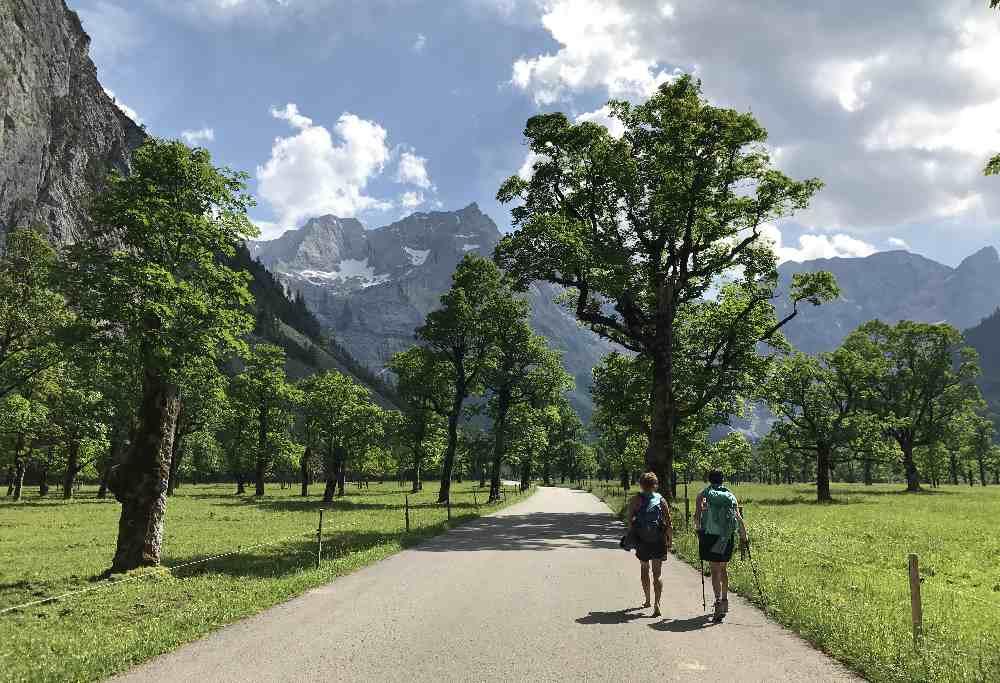 Großer Ahornboden - bekanntestes Naturdenkmal im Karwendel
