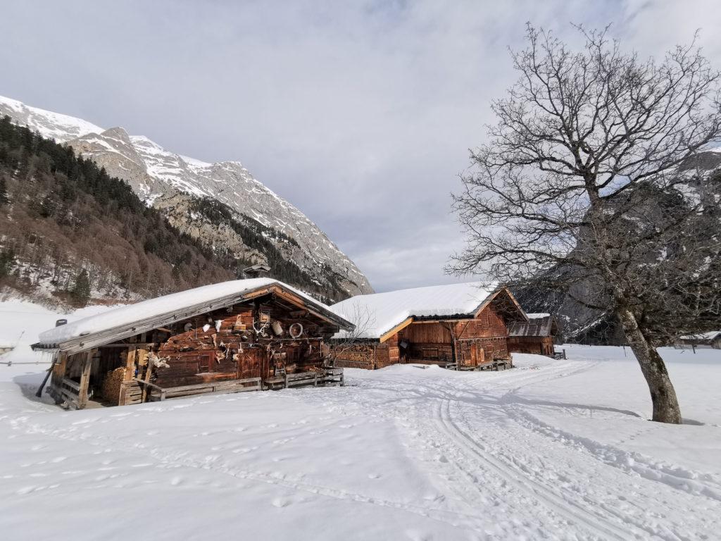 Engalm Winter - die Natur mit viel Stille erleben