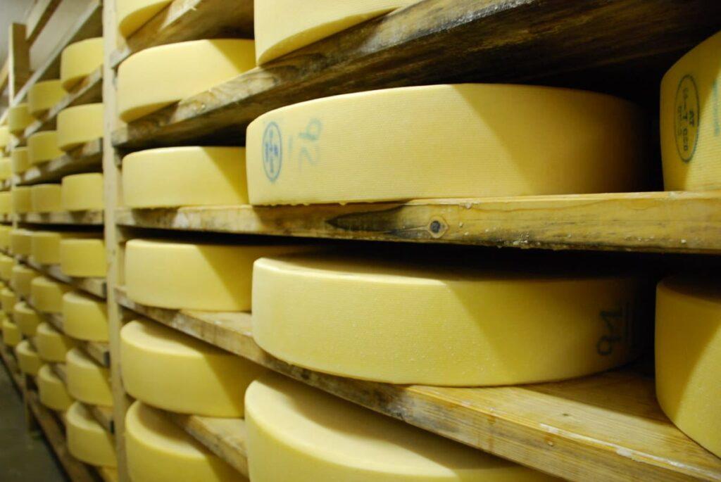 Der Käsekeller der Eng Alm - hier findet die meiste Arbeit statt